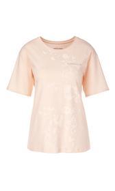 Shirt mit abstrahiertem Blüten-Print