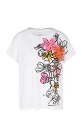 Glamouröses T-Shirt mit Stickerei