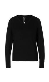 Pullover mit Kontrastfarbstreifen