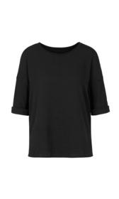 Blusenshirt aus Materialmix