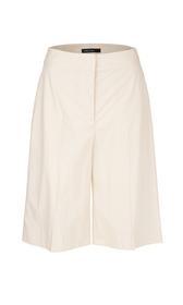 High-Waist-Shorts aus Baumwolle