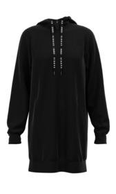 Langes Kapuzen-Sweatshirt