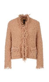 Bouclé-Jacke Knitted in Germany