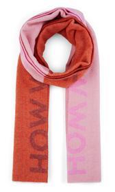 Statement-Schal aus Wolle