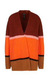 Colour-Blocking-Jacke Knitted in Germany