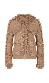 Fransenjacke Knitted in Germany