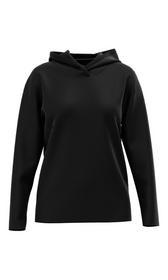 Hoodie-Shirt aus Baumwolljersey