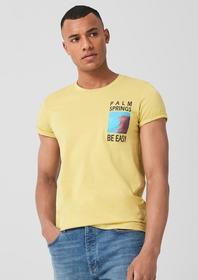 T-Shirt kurzarm, mustard ye
