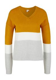 Pullover langarm - 15G0/curcuma st