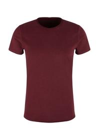 T-Shirt kurzarm - 3988/red mahoga