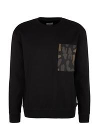 Sweatshirt langarm - 9999/black