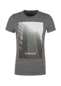 T-Shirt kurzarm - 97D2/grey melan