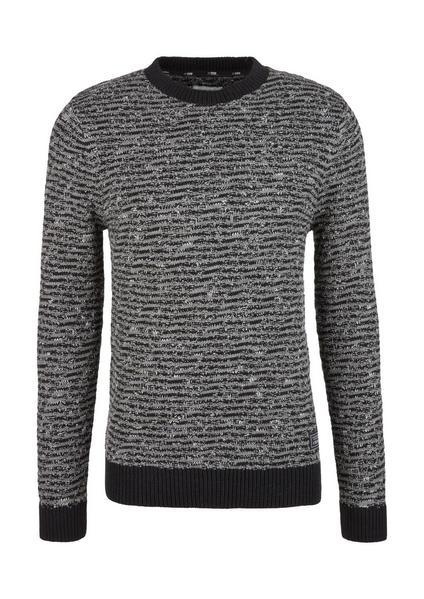 Pullover langarm - 99X0/Grey / Bla