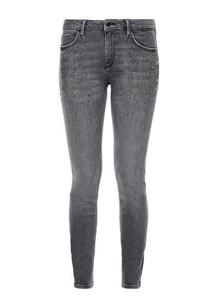 Hose lang - 96Z4/grey stret