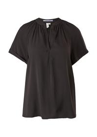 Bluse kurzarm - 9999/Grey / Bla