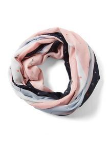 printed loop scarf
