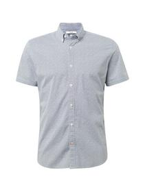 floyd printed stretch shirt - 15845/navy red eleme