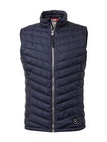 lightweight vest, blue jacket minimal           Blue