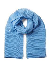 my plissé foil scarf