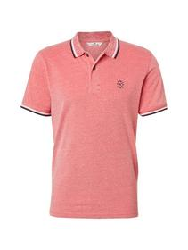 polo in two-tone fabric