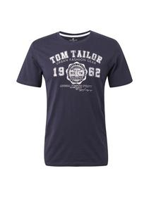 logo tee - 10690/Knitted Navy