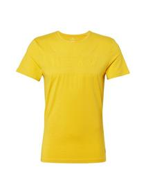 tee with tonal artwork - 11853/Californian Yellow