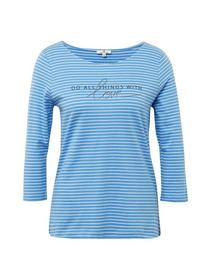 T-shirt stripe+print