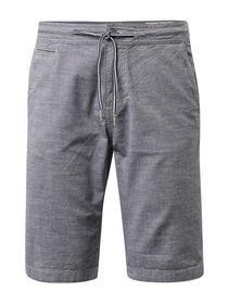 Slim chino shorts yarn dyed
