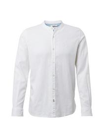 ray linen cotton mao shirt