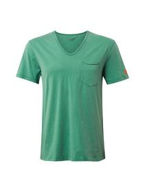 basic T-shirt with pocket - 12294/light simply gre
