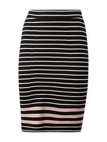 skirt striped pencil