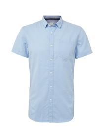 structured shortsleeve shirt