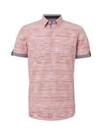 ray multicolor print  shirt - 17647/red multicol l