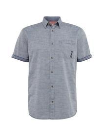 ray 2 col slub chambray shirt