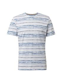 tee with printed stripe