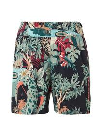 printed relaxed shorts