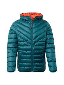 light hooded jacket - 12818/Deep Meadow Green