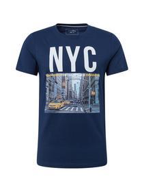 fotoprint T-shirt - 10915/Agate Stone Blue