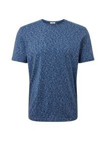 multicoloured basic t-shirt - 19009/after dark blu