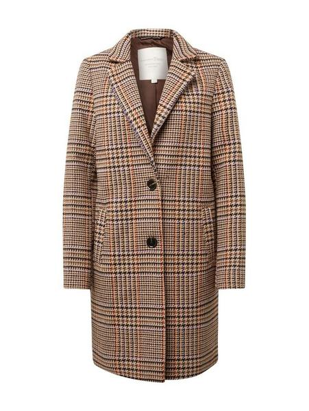 check blazer coat - 18625/brown beige check