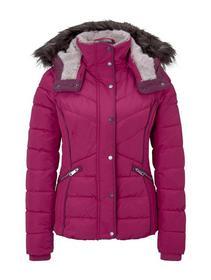 signature puffer jacket - 12270/Cherry Granita