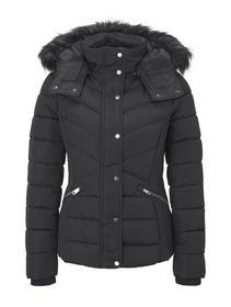signature puffer jacket - 14482/Deep Black