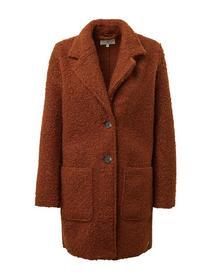 doubleface boucle coat
