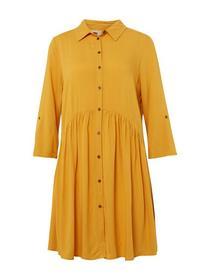 fluent feminine dress - 10744/Sunflower