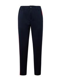 Athletic knitted track pants - 10360/Real Navy Blu