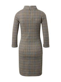 glencheck shift dress