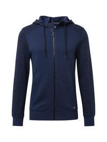 melange contrast jacket