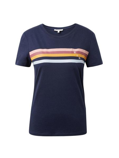 sporty jersey tee, Real Navy Blue                Blue