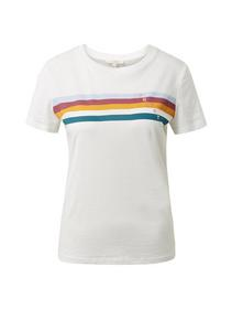 sporty jersey tee - 10332/Off White