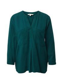solid henley tunic - 10834/Deep Green Lake